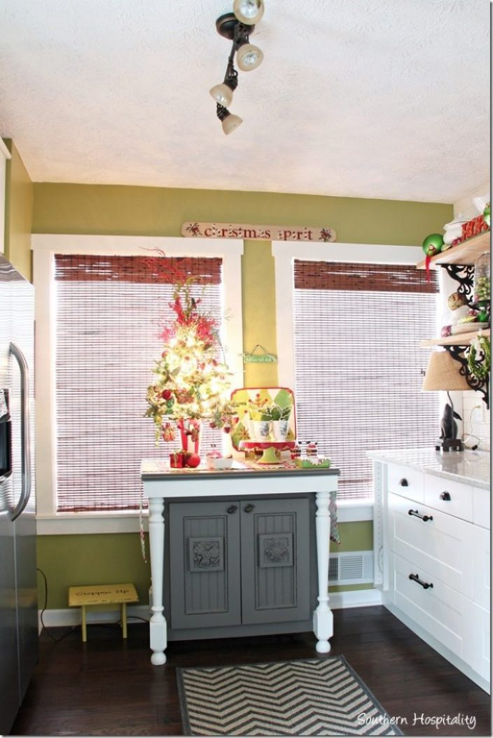 merry christmas kitchen