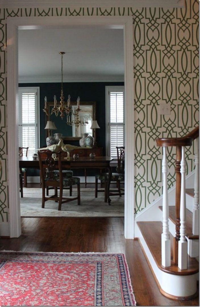 Foyer Rug Quarter : Feature friday designing domesticity southern hospitality