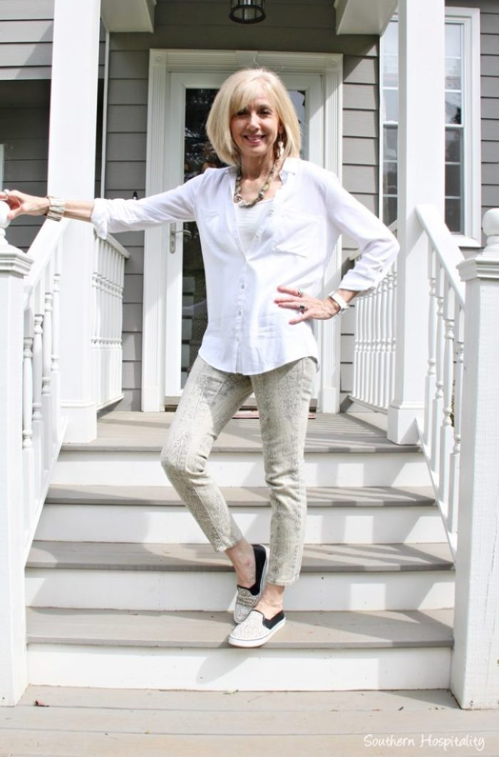 Fashion Over 50 Casual Pants Tops Southern Hospitality