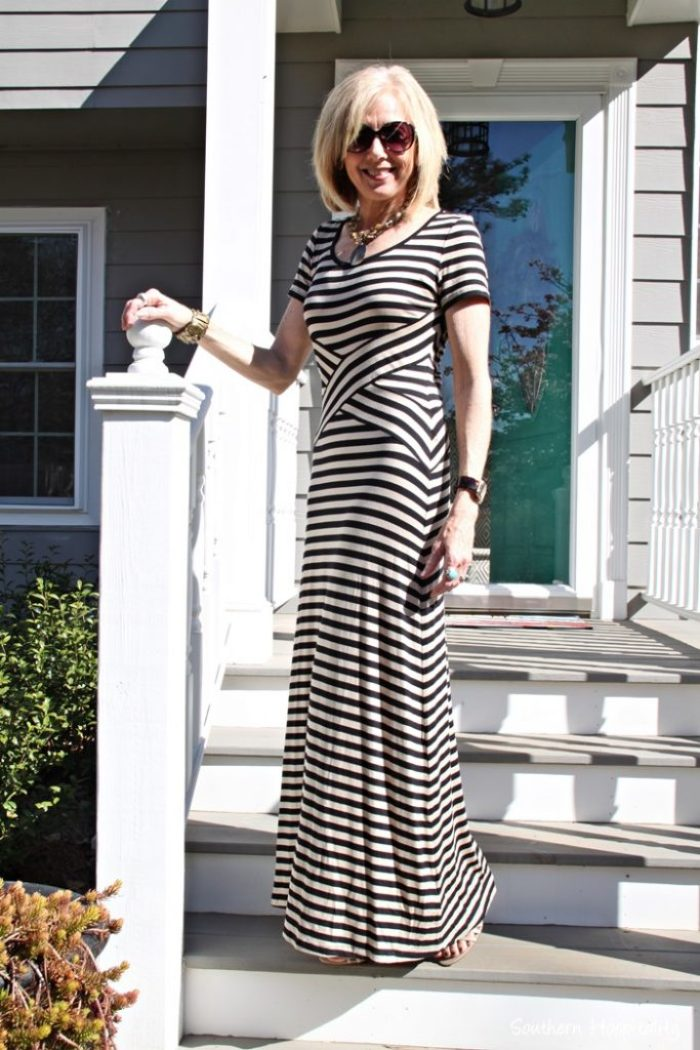 92a94c742e6 Fashion over 50  Maxi Dress - Southern Hospitality