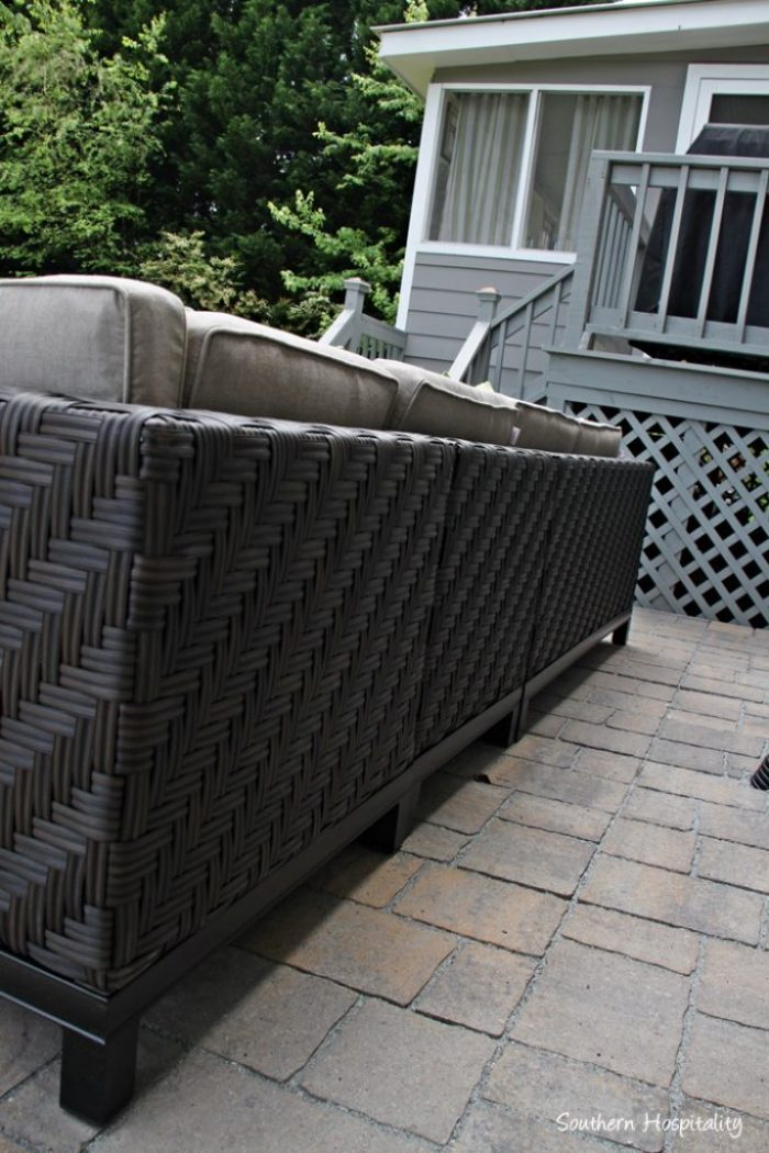 ae outdoor canyon sectional back