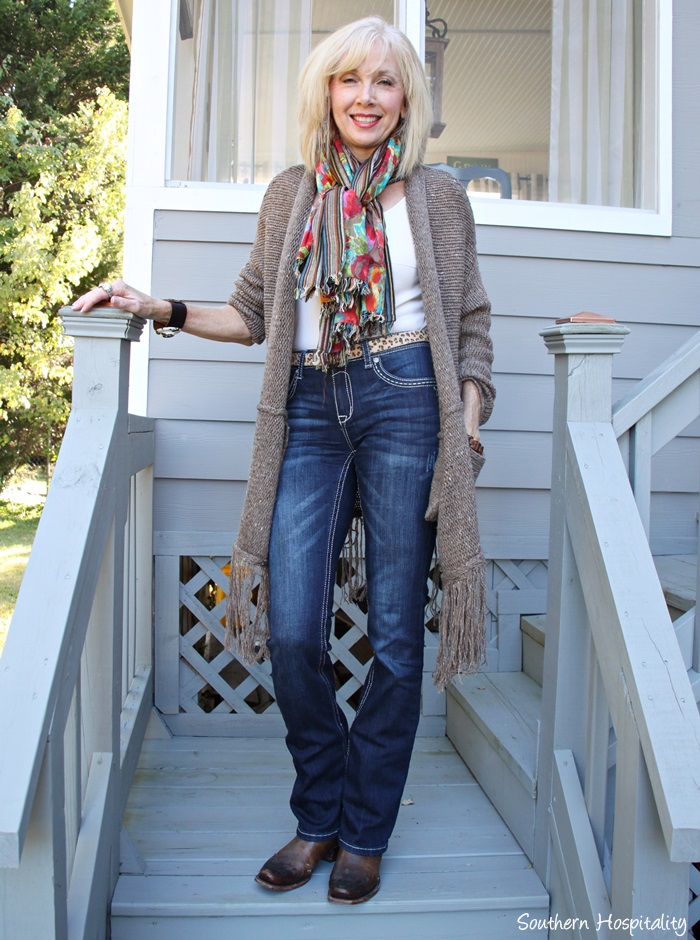 Fashion Over 50 Long Sweaters Southern Hospitality