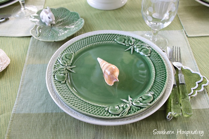 summer table green002