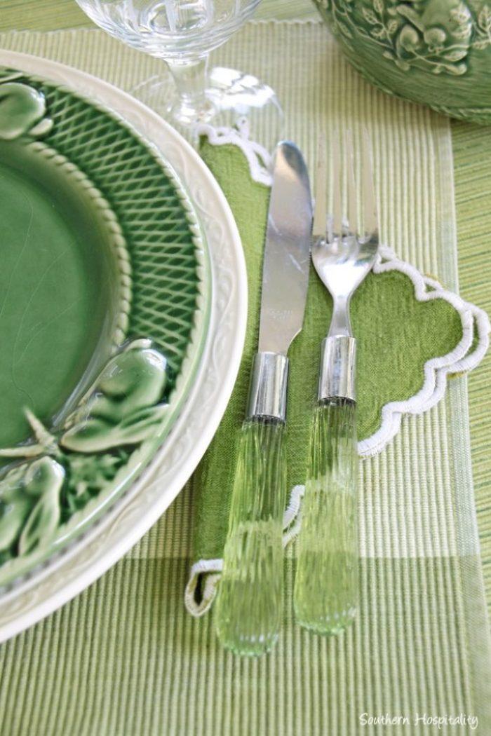 summer table green013