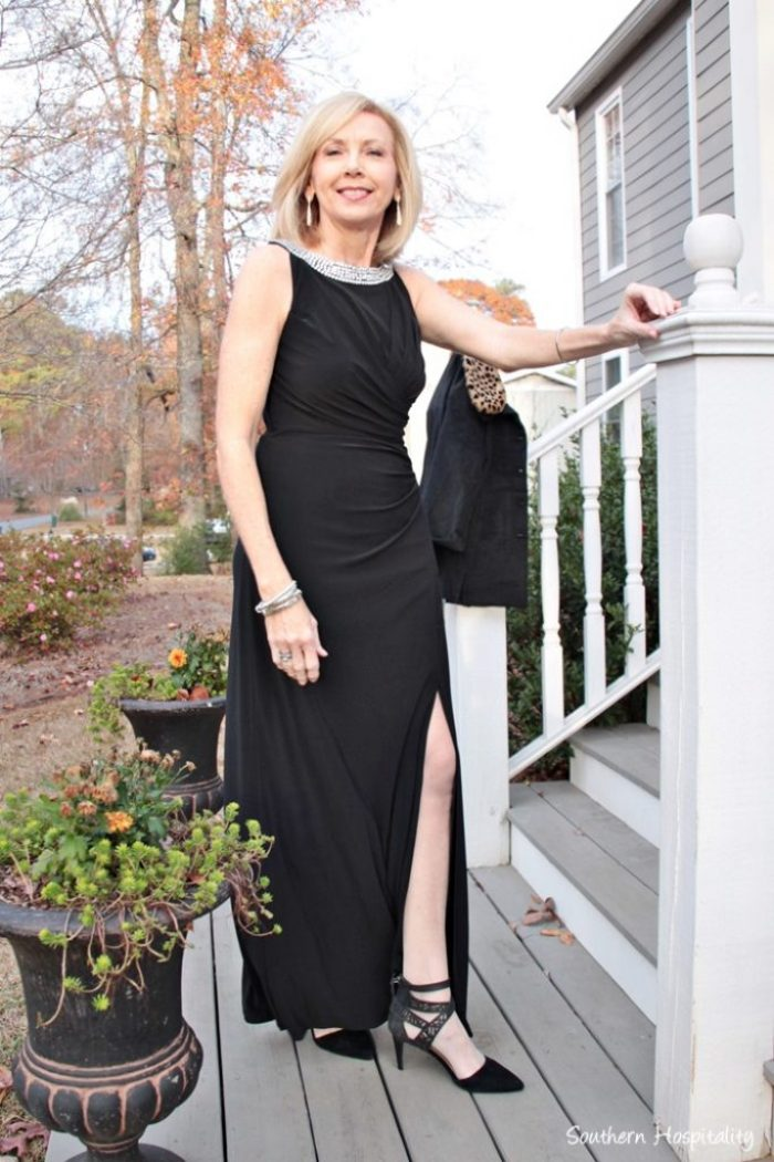 be54d7ebeb Fashion over 50  Black Tie Dress - Southern Hospitality