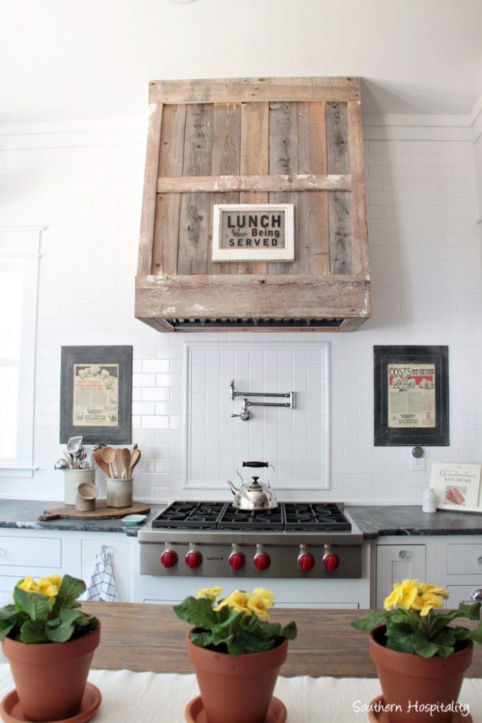 farmhouse charming stove