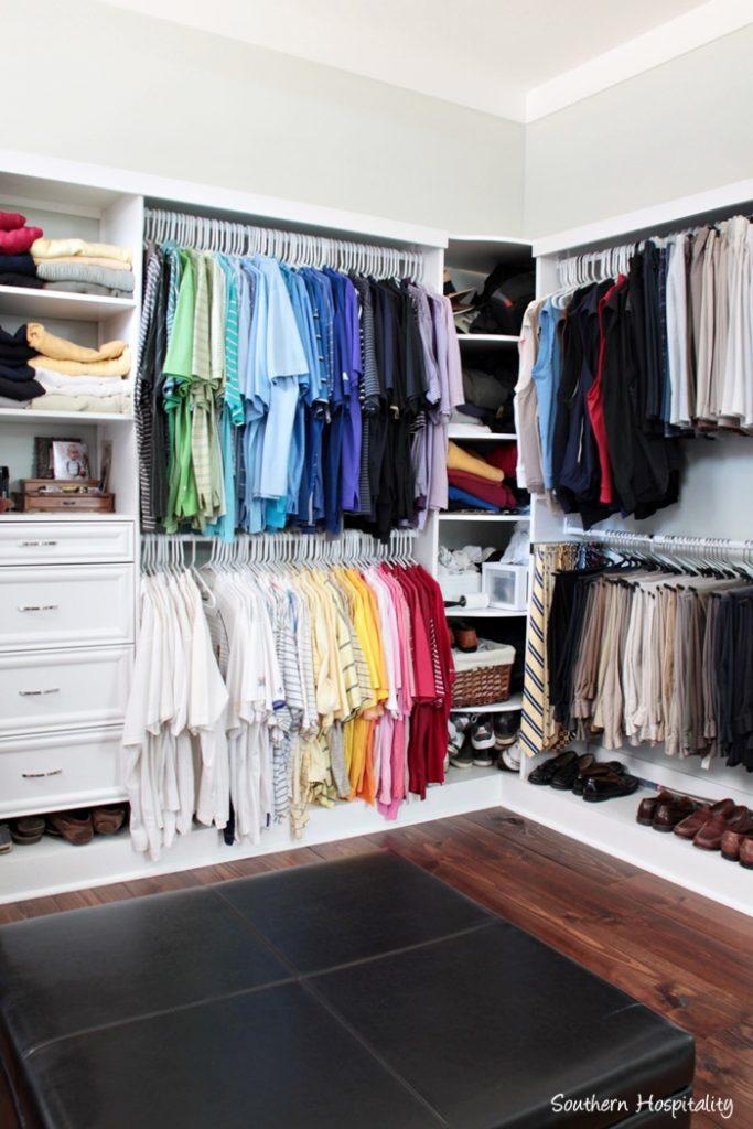 master closet decor