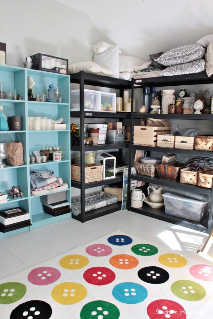 organized storage room