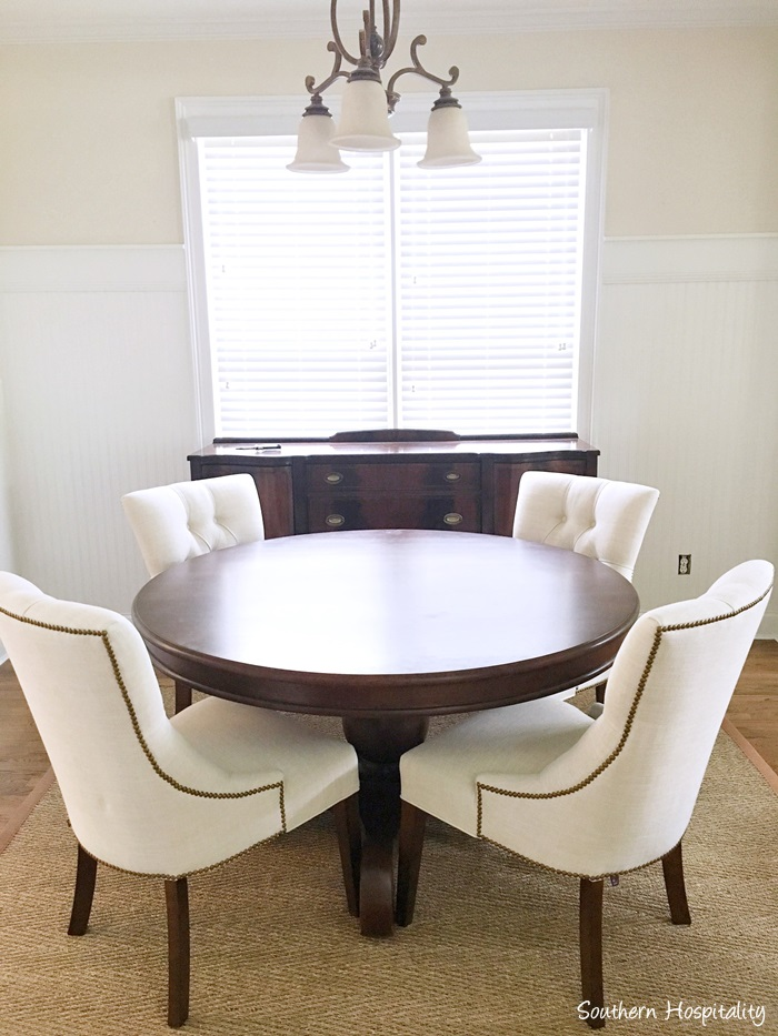 beadboard in dining room | Beadboard Wainscot in the Dining Room - Southern Hospitality