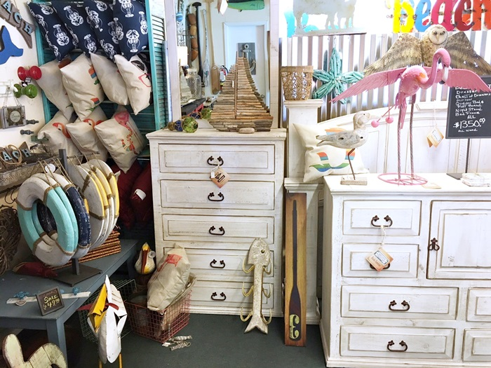 Another Stop Took Us To Beach Bums Decor, A Shop Full Of Shabby Chic And  Coastal Style Furniture And Reclaimed Items.