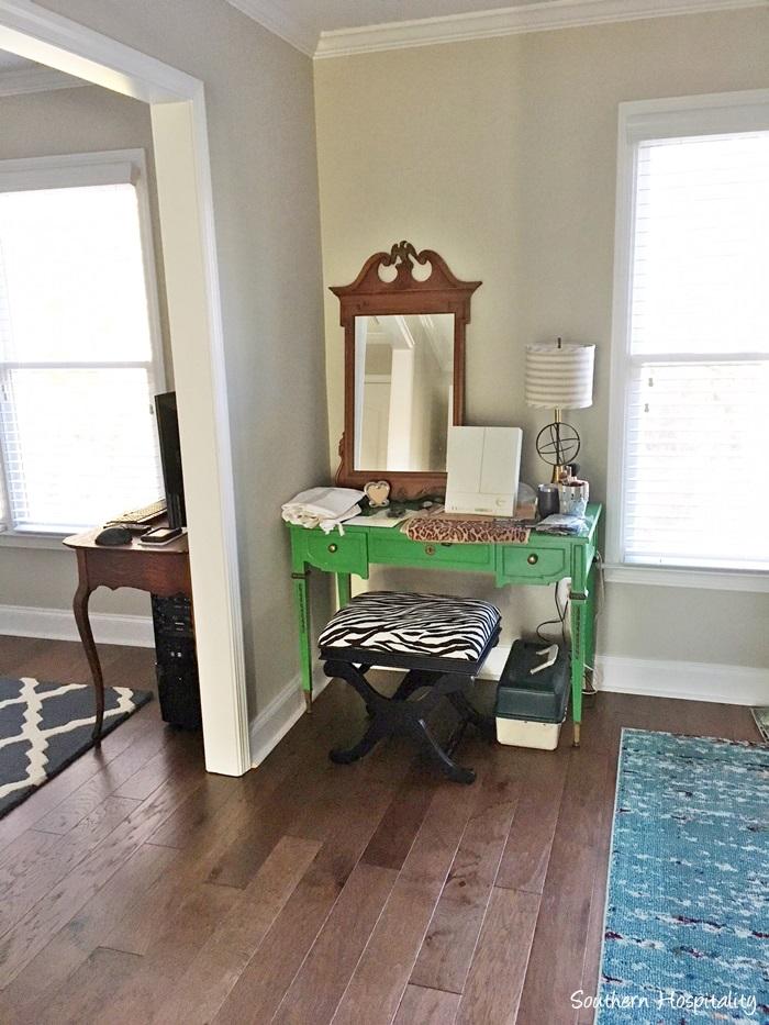 master bedroom plans desk