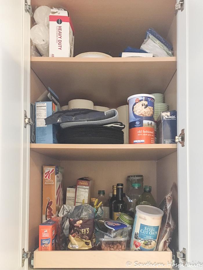how to make sliding pantry shelves