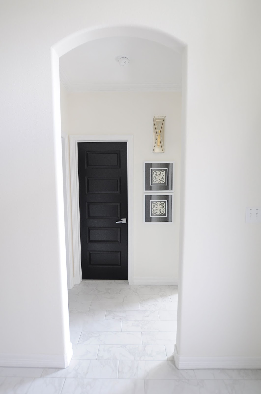 Painting Interior Doors bathroom