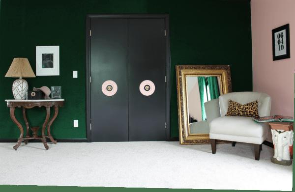 Painting Interior Doors closet