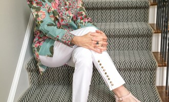 Fashion over 50:  Floral for Easter