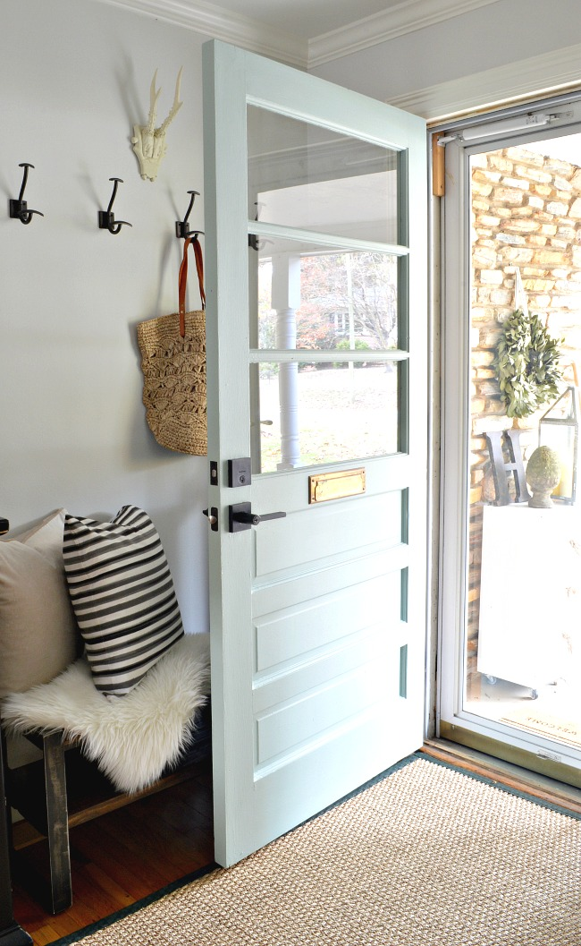 Painting Interior Doors with glass