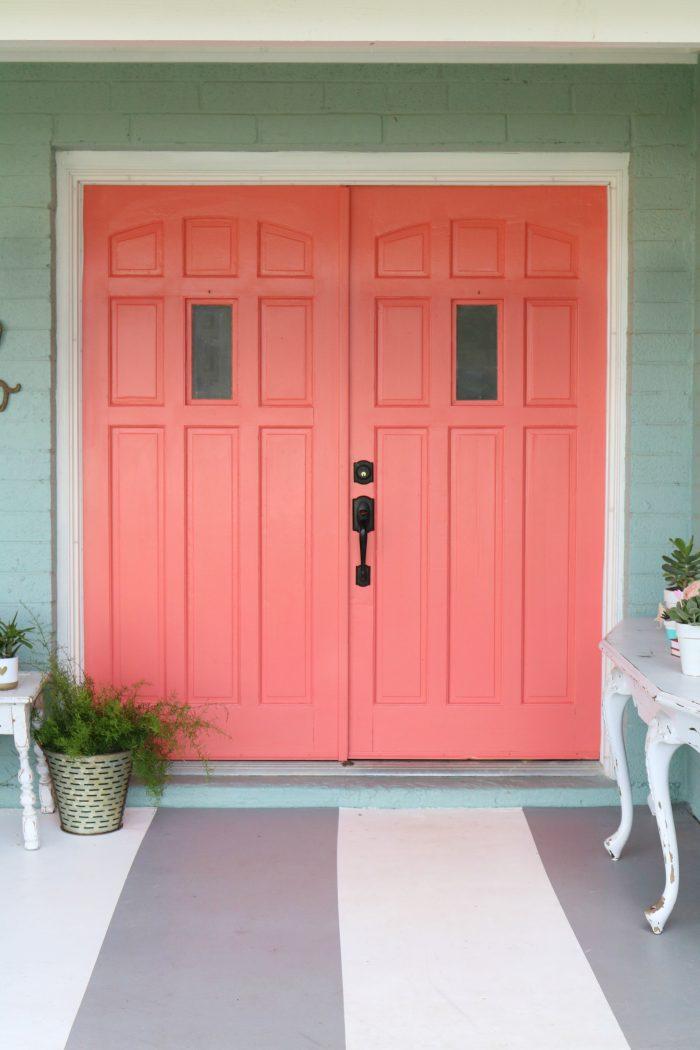 Painting exterior Doors