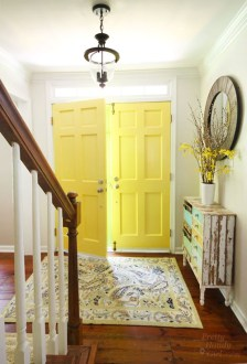 Painting Interior Doors a Color   Southern Hospitality Painting Interior Doors diy