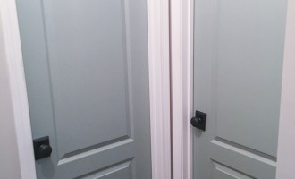 Painting Interior Doors a Color