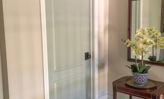 Painting Interior Doors & Changing Hardware