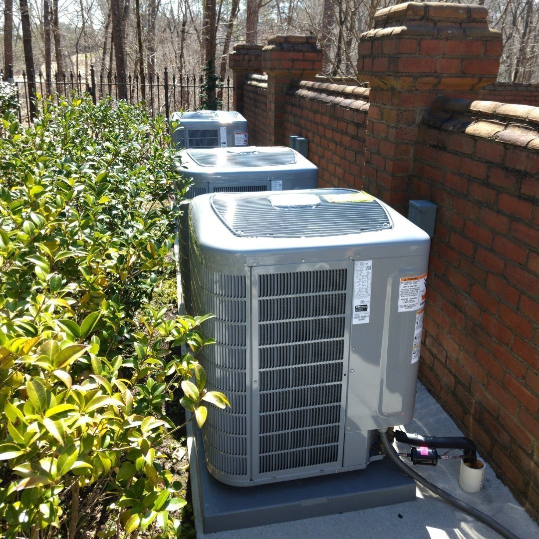 Multiple Air Conditioning Units - Gallery