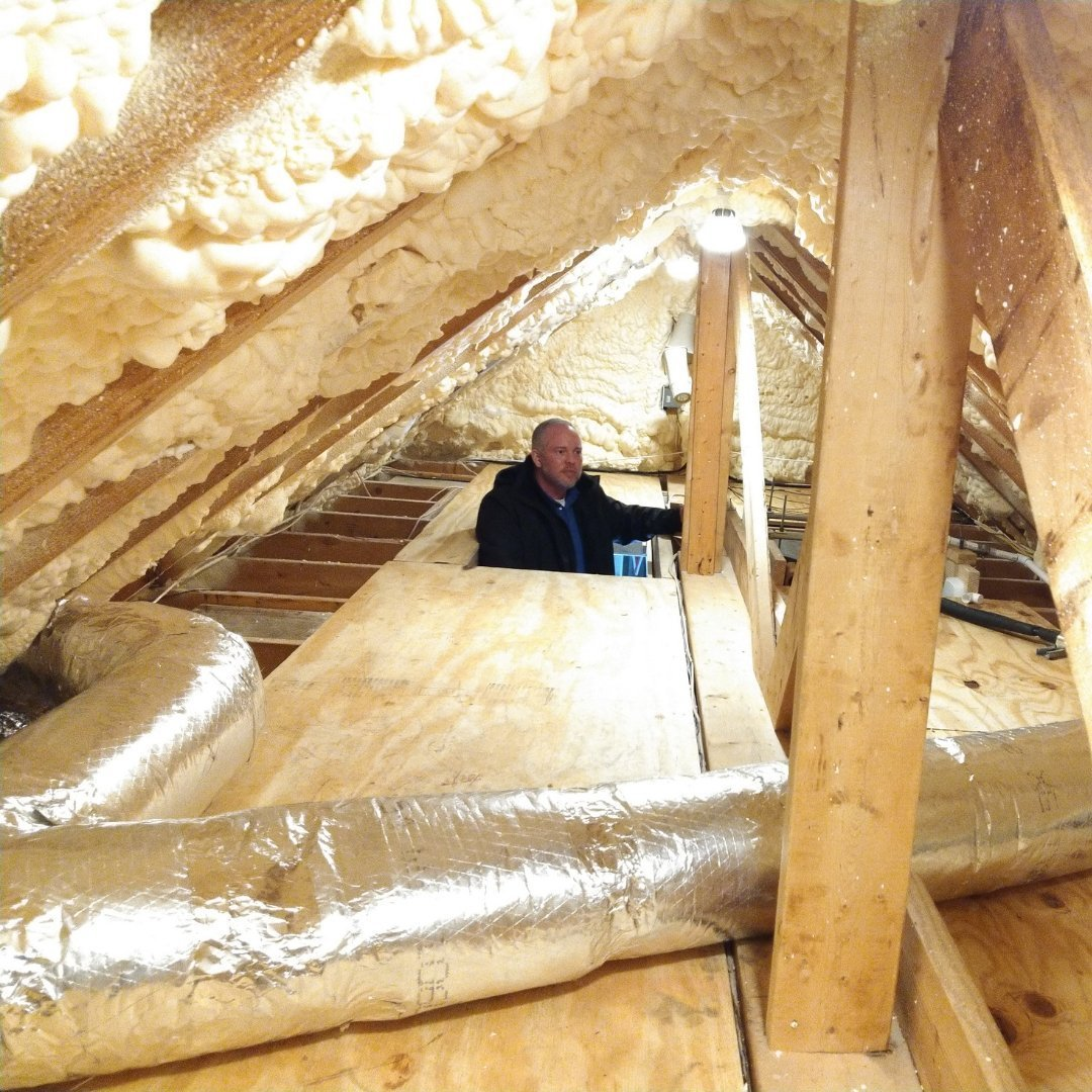 Attic Encapsulation Inspection - Gallery