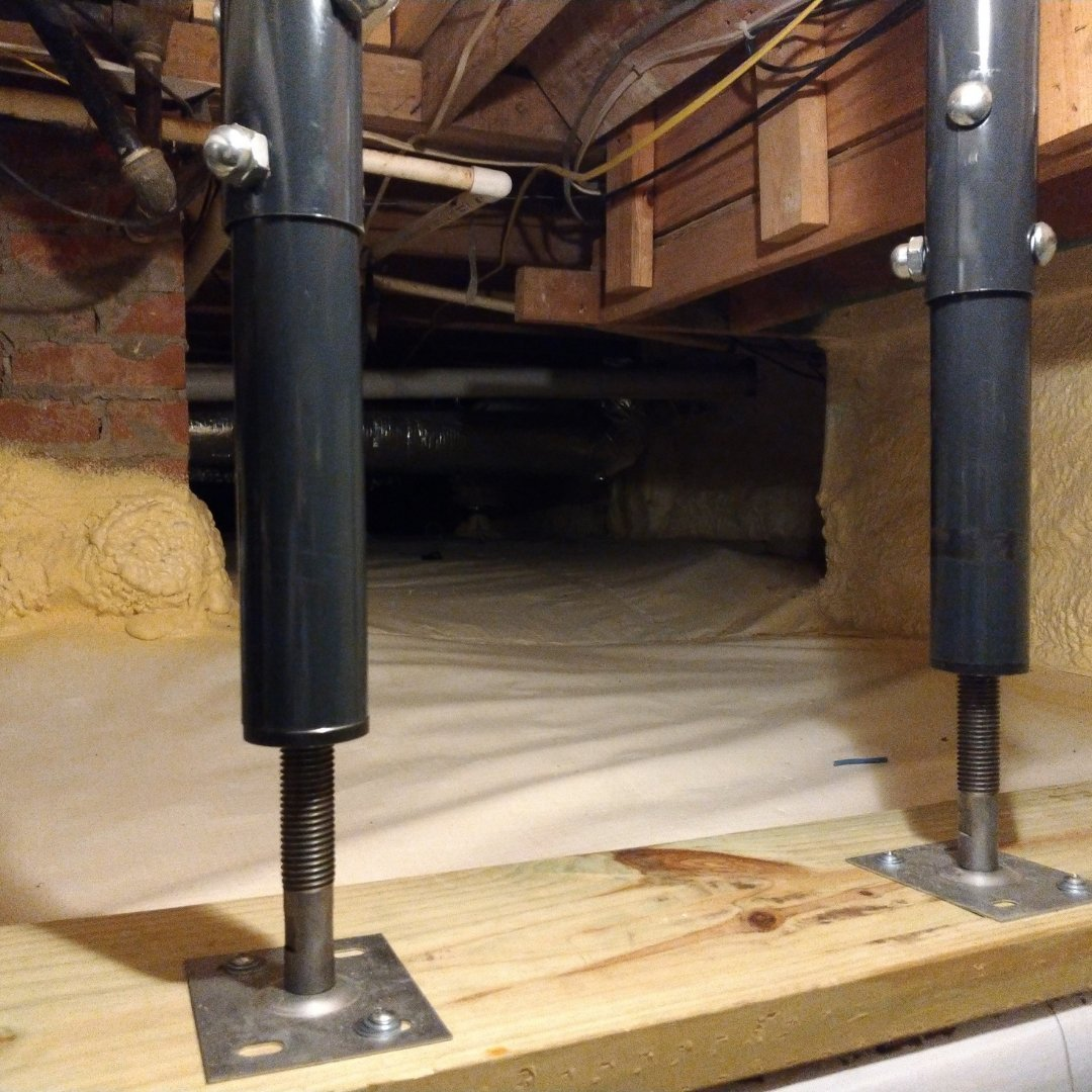 Crawlspace Encapsulation - Stabilizers - Gallery