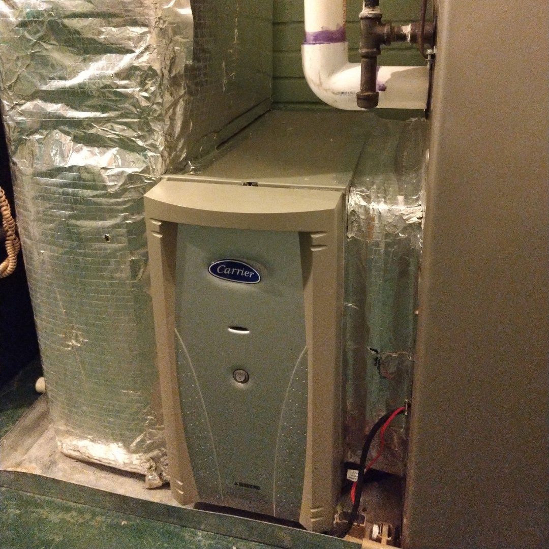 Installed Carrier Air Purification System - Page Gallery