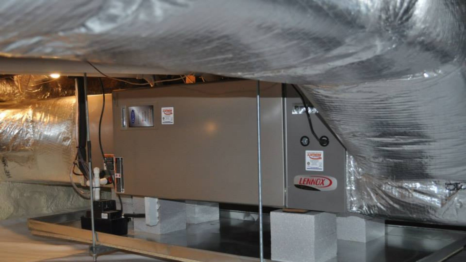 Proper Duct Connection to HVAC Unit - Duct Sealing Page Gallery