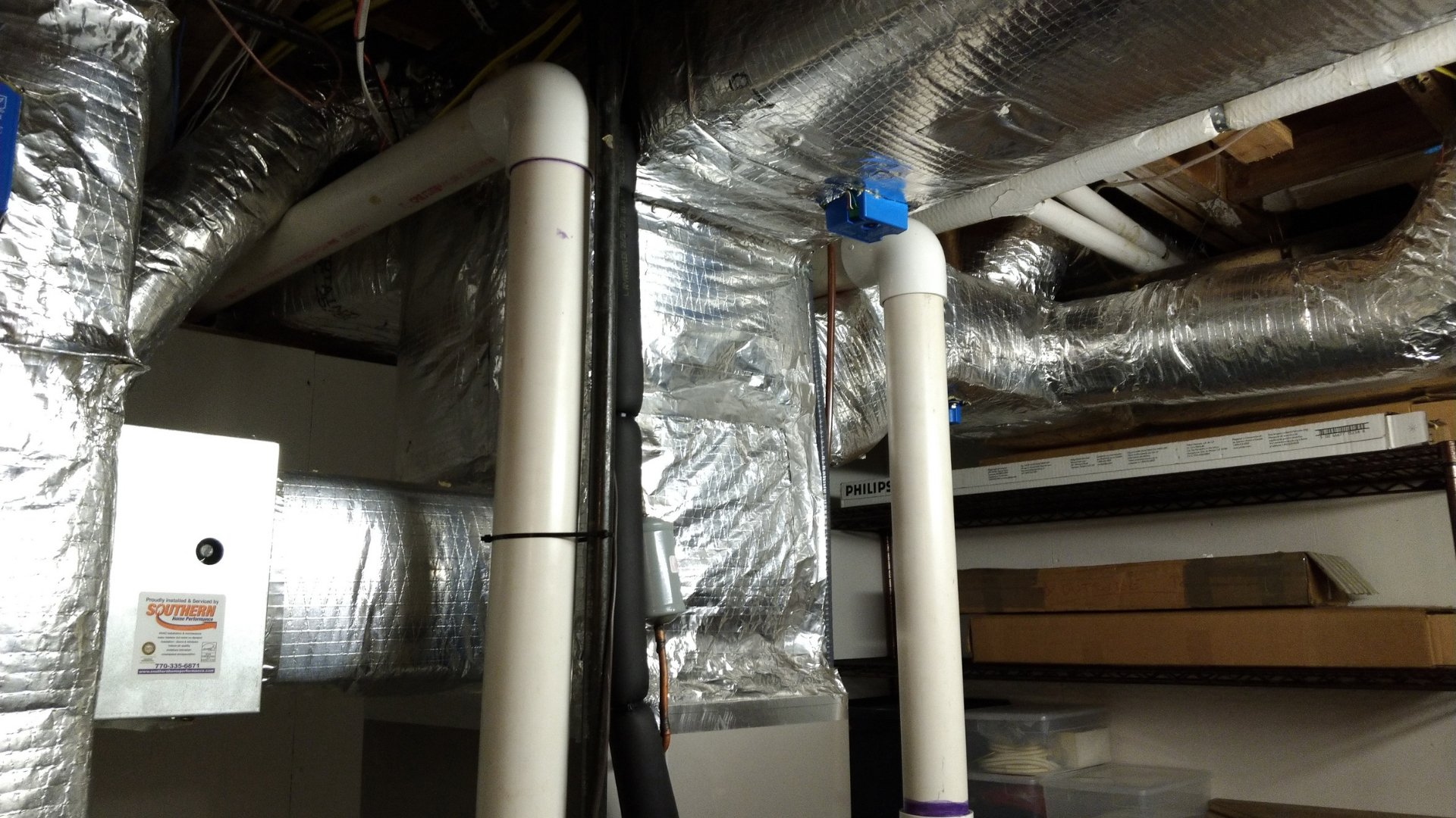 Air Distribution in Properly Sealed Ducts - Duct Sealing Page Gallery