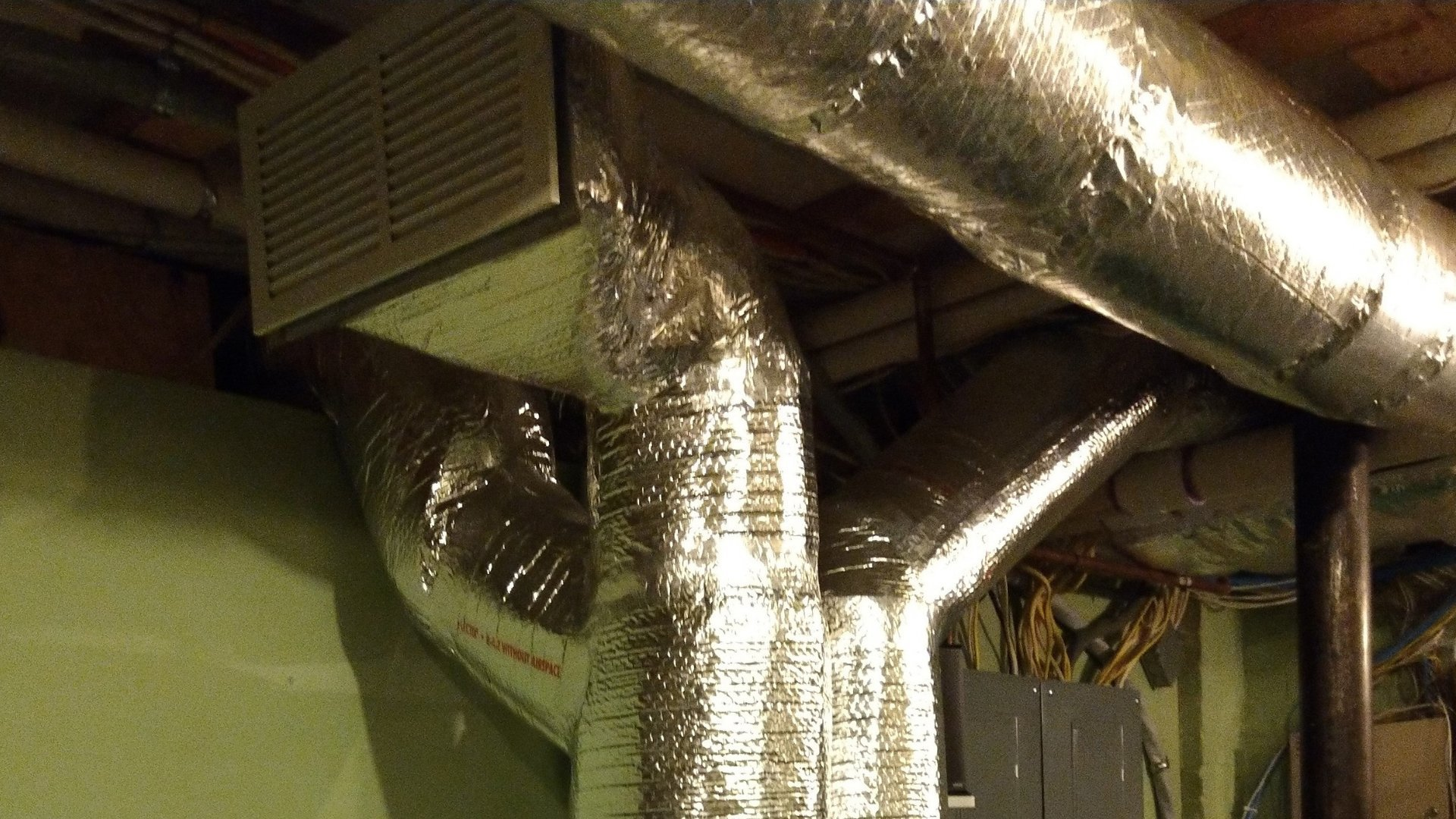 Duct Sealing From Furnace in Basement - Page Gallery