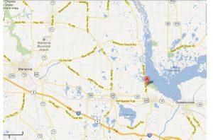 Area Map around Three Rivers State Park