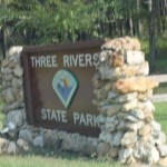 Three Rivers State Park Entrance