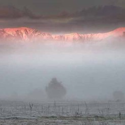 Roys Peak from Albert Town, near Wanaka