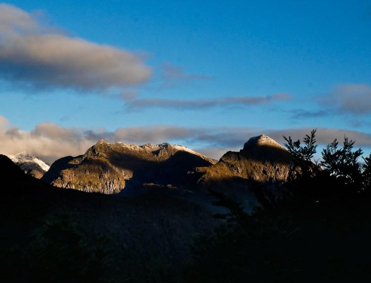 Dawn in Fiordland