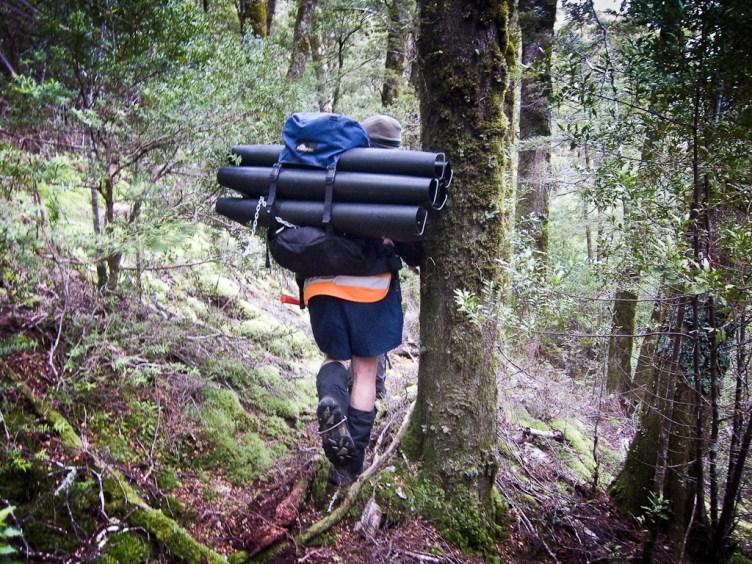 Tracking Tunnels, Mt Aspiring National Park