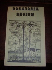 First issue Barataria Review, 1974