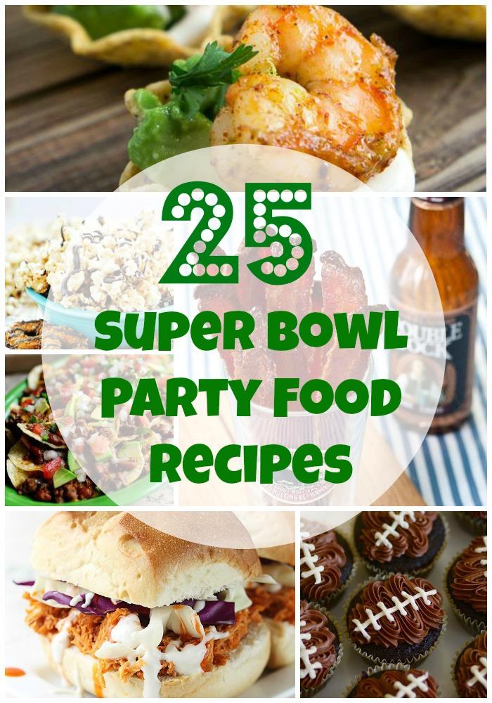 25 Super Bowl Party Food Recipes