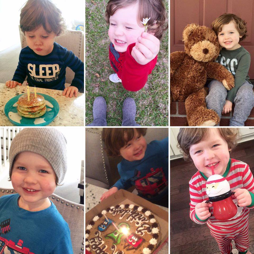 Today You're Three | Southern Made Blog