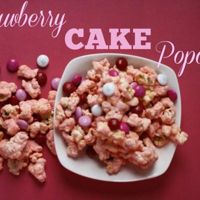 Southern Made Blog | Strawberry Cake Popcorn