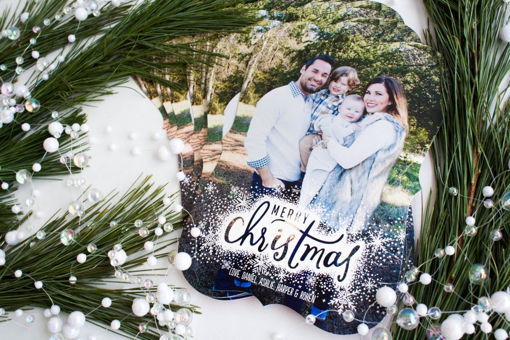 Our Family Christmas Cards with Tiny Prints | Southern Made Blog