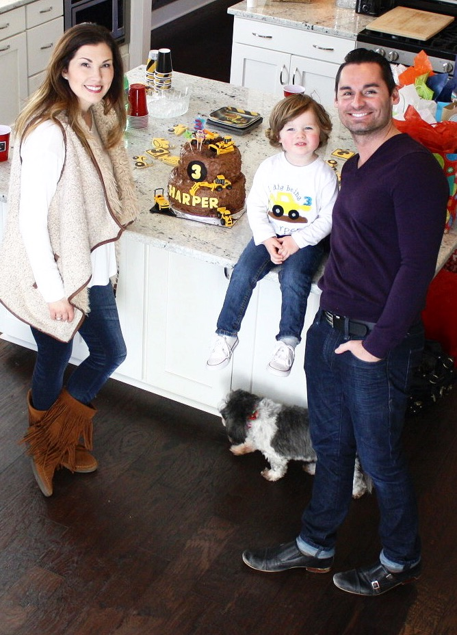 Harper's 3rd Birthday Construction Party | Southern Made Blog