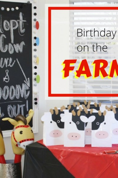 Harper's Second Birthday on the Farm | Southern Made Blog