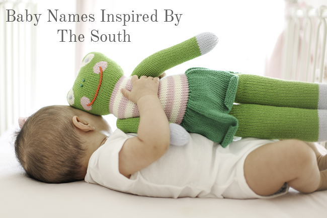 Baby Names Inspired By The South