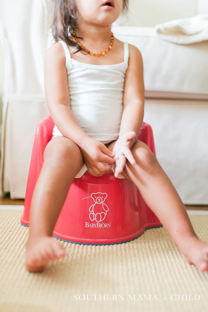 Potty Training: Our Story