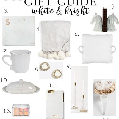 Gift Guide: White & Bright Classic Picks