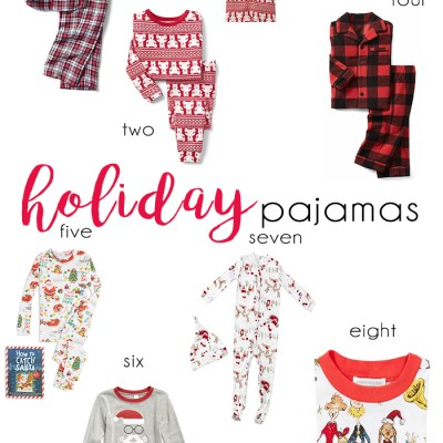 Holiday Pajamas for Littles