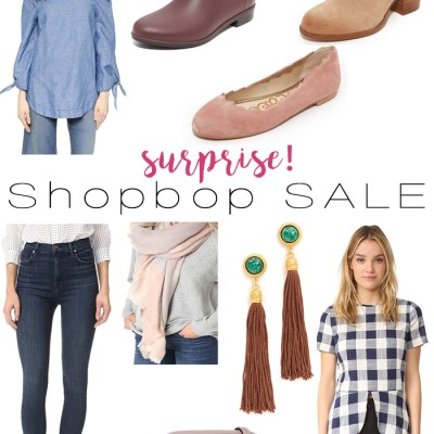 Surprise, Shopbop Sale!
