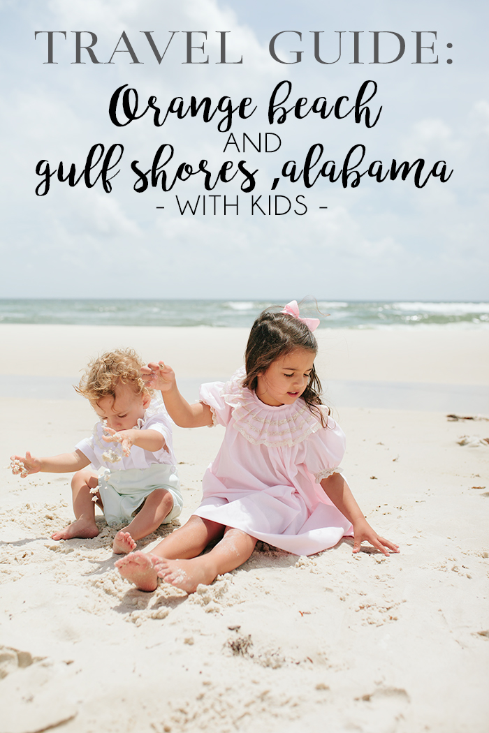 Orange Beach and Gulf Shoes, Alabama Travel Guide by Britt from SouthernMamaGuide.com || orange beach || alabama beaches || beach || gulf shores || southern travel || southern beaches