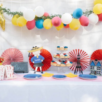Scarlett's Madeline Themed Fourth Birthday Party